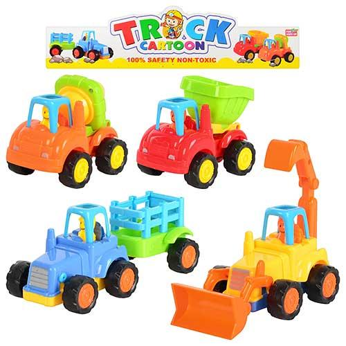 Детские машинки Стройтехнека 5309 A набор машинок для детей от 3 лет