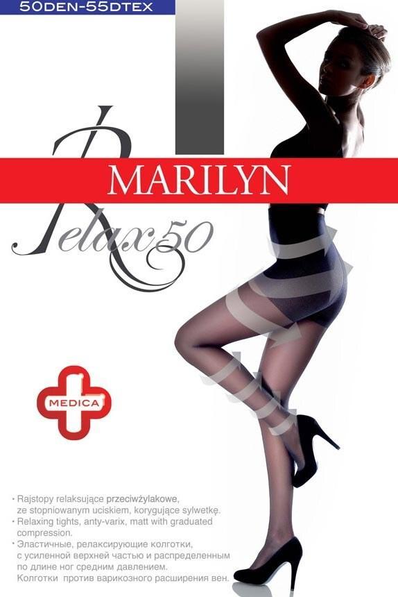 Колготки marilyn relax 50 den с моделирующими шортиками и с массажным эффектом