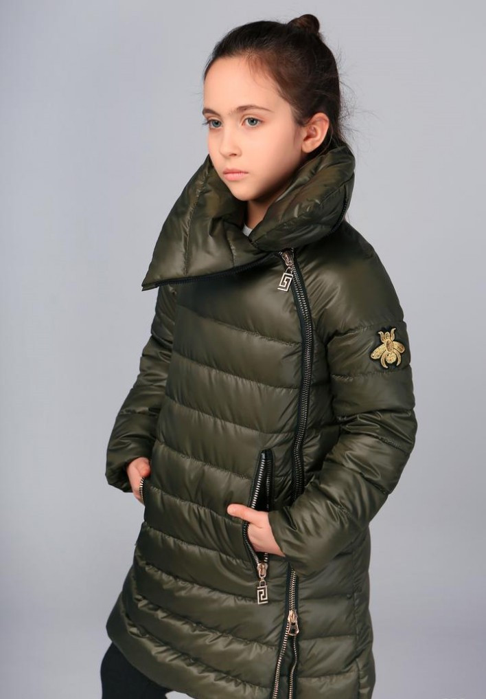 Пальто для девочки тм Моне (еврозима) 128