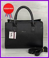 Женская сумка стильная, классическая женская сумка, модная женская сумка черного цвета
