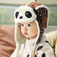 Шапка детская осень холодная зима теплая шапка дитяча осінь холодна зима
