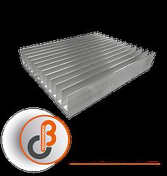 Профиль алюминиевый радиаторный БПО-1908 150х122х26 мм