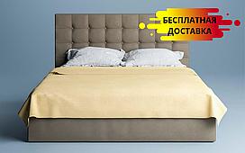 Кровать Бруклин 160х200 см. (изножье без узора) ЛунаМебель