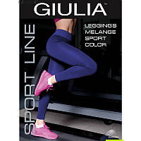 Леггинсы женские Giulia LEGGINGS SPORT MELANGE COLOR skl-044
