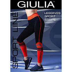Леггинсы женские Giulia LEGGINGS SPORT STRIPE 01 skl-045