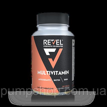 Витамины для женщин Revel Women`s Multivitamin Biotin Collagen Antioxidants 120 капс., фото 2