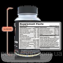 Витамины для женщин Revel Women`s Multivitamin Biotin Collagen Antioxidants 120 капс., фото 3