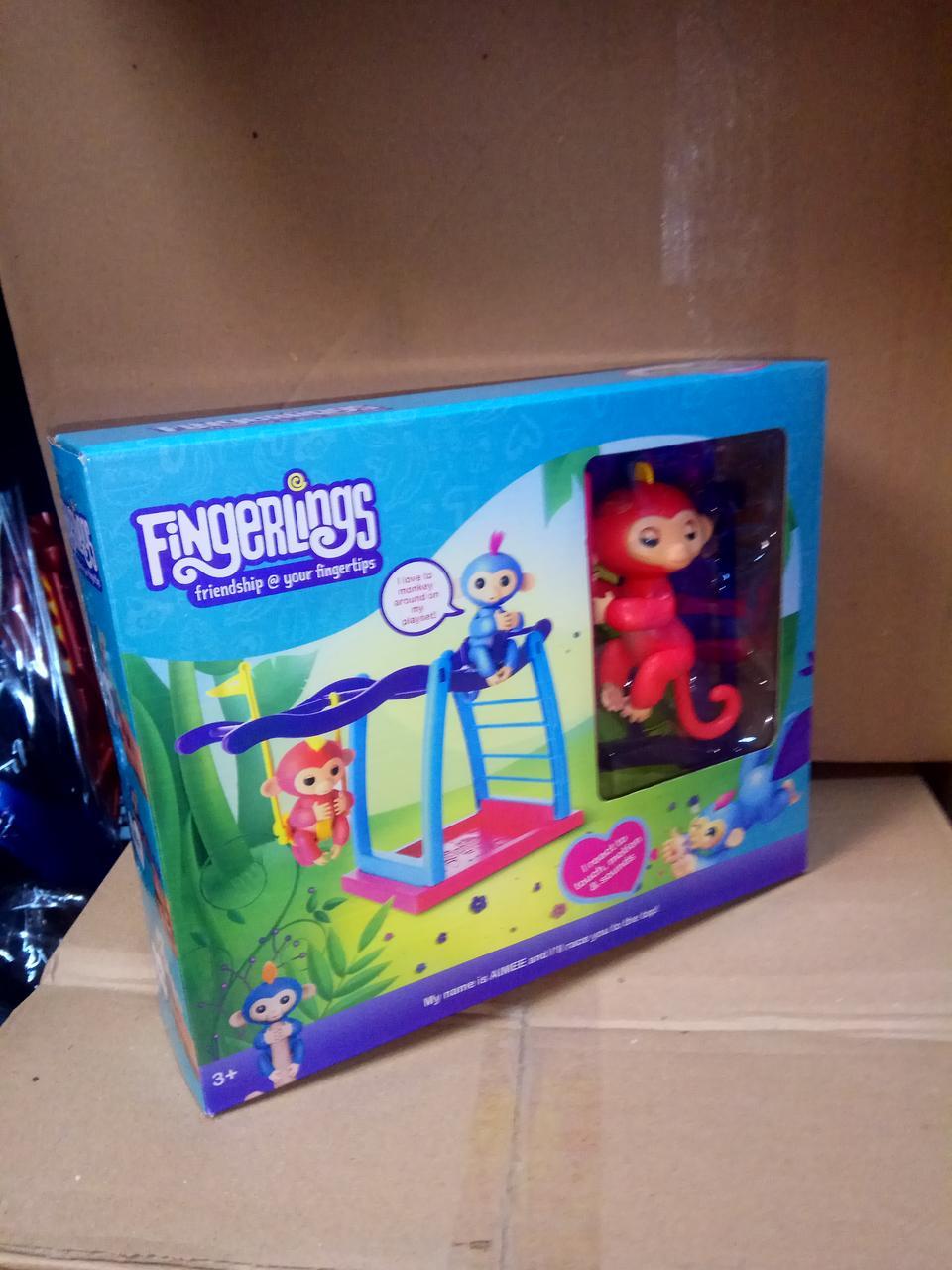 Игровая Площадка Fingerlings С Обезьянкой 21606 (Красный)