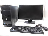 Компьютер в сборе, Intel Core 2 Quad 4x2.4 Ггц, 6 Гб ОЗУ DDR3, 320 Гб HDD, монитор 22 дюйма, фото 1