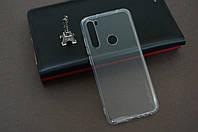 Чехол бампер силиконовый для Xiaomi Redmi Note 8 Ксиоми Сяоми цвет прозрачный ультратонкий