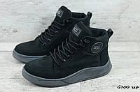 Мужские зимние ботинки Ugg (Реплика) (Код: G700 чер  ) ►Размеры [40,41,42,43,44,45], фото 1