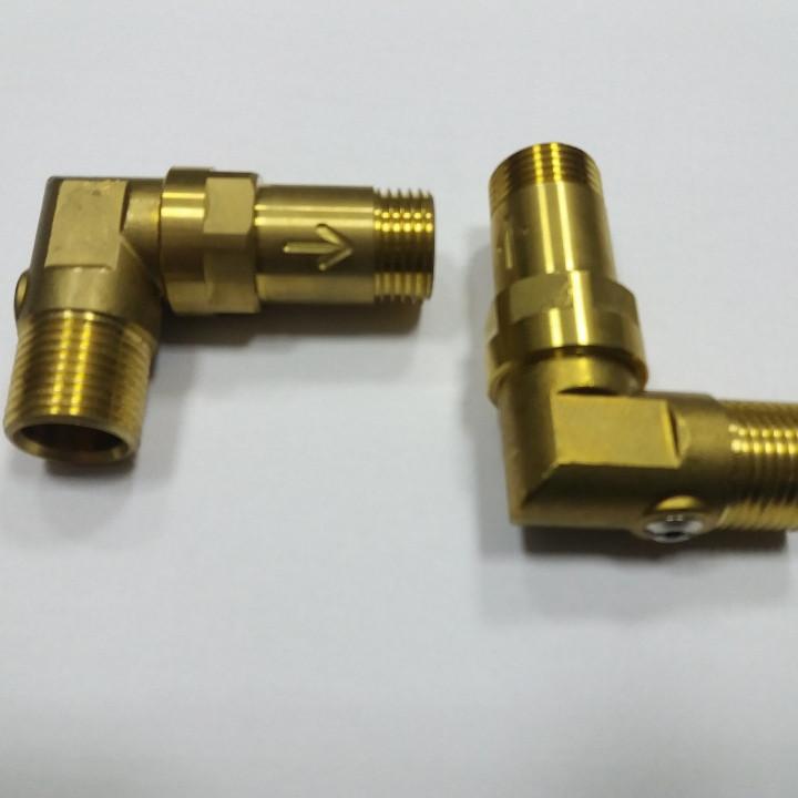 Угловое соединение Axor Hansgrohe запорный вентиль обратный клапан