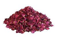 Лепестки розы сушеные, 100 грамм