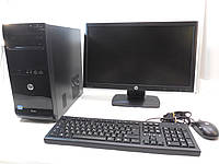 Компьютер в сборе, Intel Core 2 Quad 4x2.4 Ггц, 8 Гб ОЗУ DDR3, 320 Гб HDD, монитор 19 дюймов 16:9, фото 1