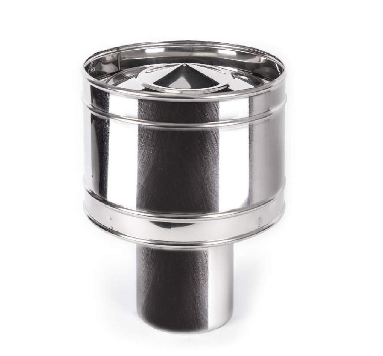 Волпер (дефлектор) одностенный из нержавеющей стали
