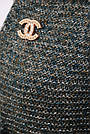 Женский вязаный кардиган, цвет хаки, размер 44-48, фото 2