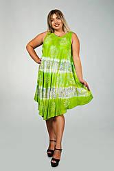 Летние женские платья свободного кроя яркие