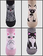 Носки для девочки Кошечка ,Кошка 30-35р