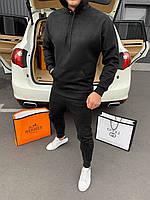 🔰 Мужской черный спортивный костюм Doberman (реплика)