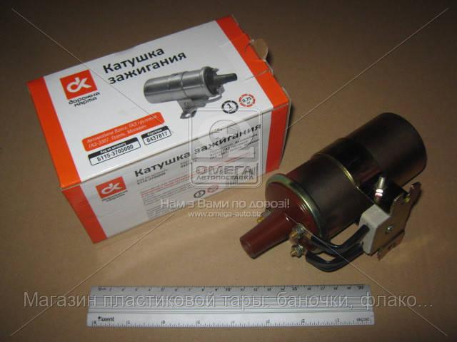 Катушка зажигания ВОЛГА, ГАЗ, МОСКВИЧ Б-115В-01 (ДК) Б115-3705000