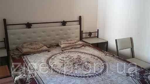 Ліжко  металеве шоколад перламутр