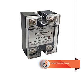 Твердотельное реле 1-о фазное MGR-1D48-40A 3-32VDC