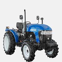 Трактор JINMAJMT3244H (24л.с., 4х4, КПП (4+1)х2х2, ГУР, колеса 6.00-16/9.50-24, 2-диск.сцепление)