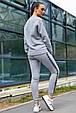 Модная молодежная толстовка 1228.3742 серый, фото 3