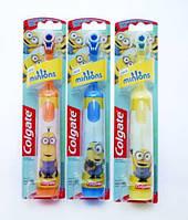 """Детская электрическая зубная щетка """"Миньоны"""" Colgate Minions (8718951052109)"""