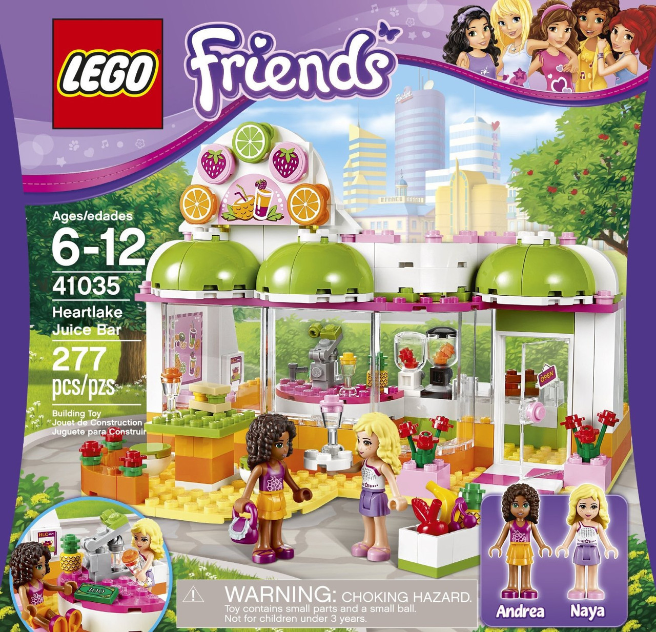 LEGO Friends Фреш-бар Хартлейк Сити 41035