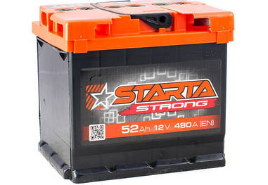 Автомобильный аккумулятор Starta Strong 6СТ-52