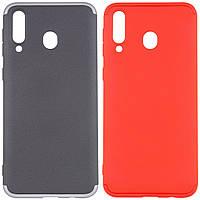 Пластиковый чехол GKK LikGus 360 градусов для Samsung Galaxy M30 (выбор цвета)
