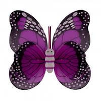 Крылья Бабочки пятнистые малиновые 42х48 см, фото 1