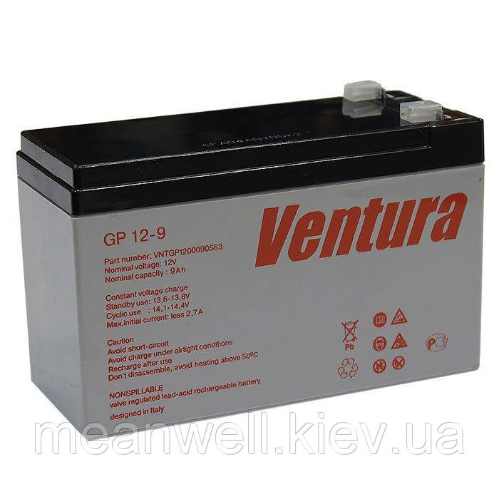Аккумуляторная батарея Ventura GP 12-9 12в, 9Ач (AGM)