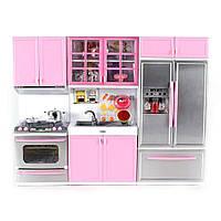 Игровая кухня для кукол / Кухня для Барби на 3 секции QF26210P