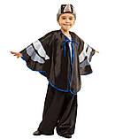 Детский карнавальный маскарадный костюм Грач рост: от 110 до 134 см, фото 2