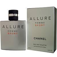 Chanel Allure Homme Sport edt 100ml TESTER #B/E