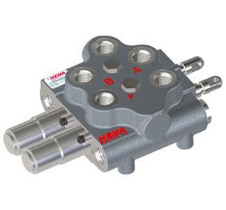 Клапаны погрузчика MV055 (60л/мин) Hema Endustri A.S
