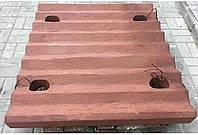 Плита СМД-111 дробящая подвижная нижняя 3440.02.020. 0.