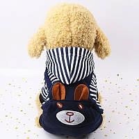 Комбинезон для собак  с капюшоном размер L, фото 1