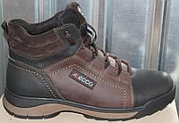 Ботинки зимние мужские кожаные от производителя И26, фото 1