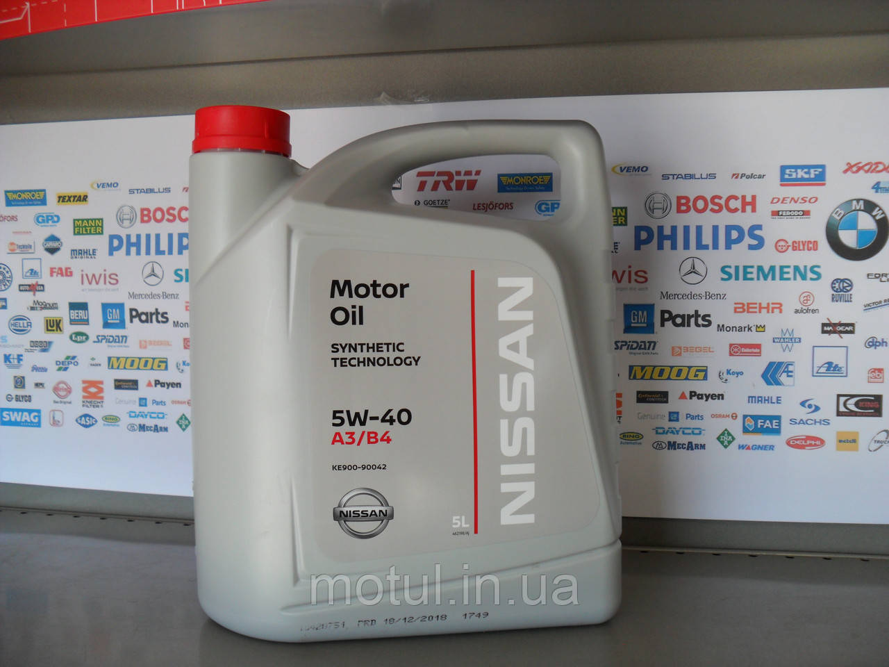Моторное масло Nissan 5w40 5L