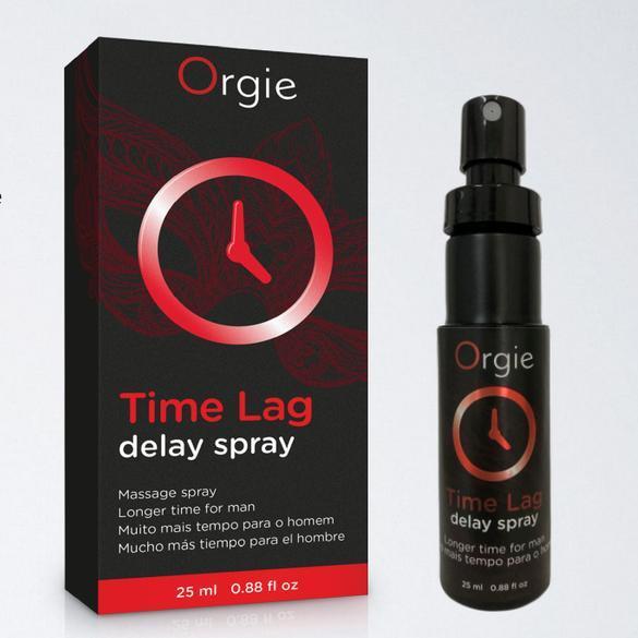 Пролонгирующий спрей для мужчин Time Lag Orgie, 25 мл