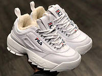 Женские кроссовки  Fila Disruptor 2 белые