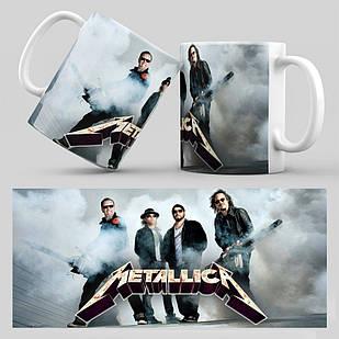 Чашка Metallica 004