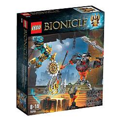 Lego Bionicle Создатель Масок против Стального Черепа 70795