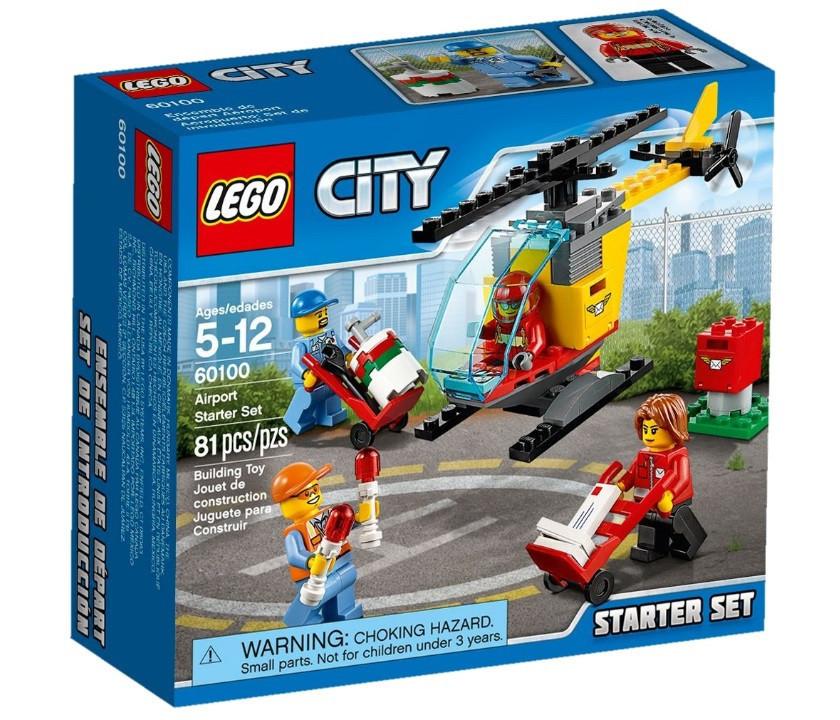 LEGO City Аэропорт: стартовый набор 60100
