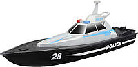 Катер на р/у Maisto Tech Speed Boat Police Чорно-сірий (82196 black/grey)