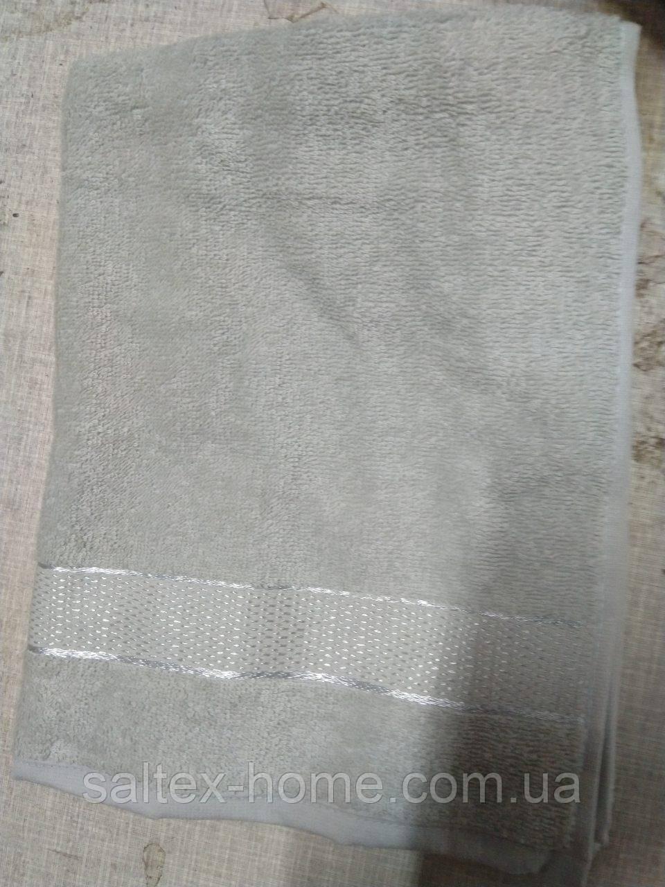 Махровое полотенце 70х140 см для лица, 400 г/м, Узбекистан, ментолового цвета