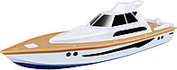 Яхта на р/у Maisto Speed Boat Super Yacht Біло-коричнева (82197 white/braun)